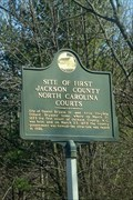 Image for Site of First Jackson County North Carolina Courts