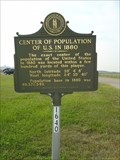 Image for Center of Population of U.S. in 1880 - Boone County, KY, US