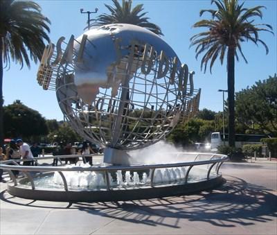 Universal Studios Fountain - California