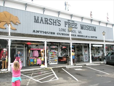 Tourism Marsh S Free Museum Long Beach Wa Official Local Attractions On Waymarking