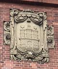 Image for Hamburg-Wappen an der Feuer- und Rettungswache Innenstadt (F11) - Hamburg, Germany