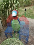 Image for Parrot Bench - Story Garden, Binghamton, NY