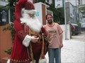 Image for Take a photo with a life size Santa Claus