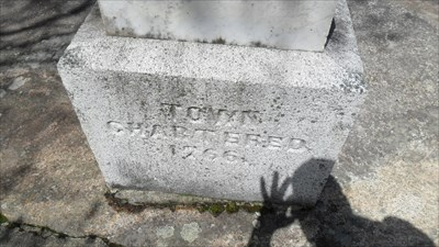 Town chartered 1766.