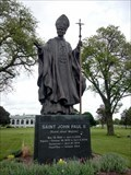 Image for Saint John Paul II - Resurrection Cemetery, Justice, IL
