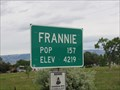 Image for Frannie, Wyoming - Population 157