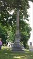 Image for Simms family obelisk - Dayton, Ohio