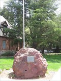 Image for City Hall Memorial Rock - Mill Valley, CA