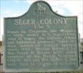 Image for Seger Colony - Washita County, Oklahoma