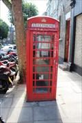 Image for Red Telephone Box - Berkley Road, London, UK