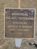 Image for Tioga Cemetery Veterans Memorial - Tioga, TX