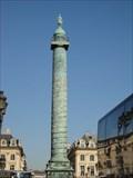 Image for Vendôme Column  -  Paris, France