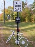 Image for Tim Pincikowski Ghost Bike