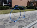 Image for Blue Bike Rack - Jacksonville, FL