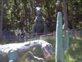 Image for Allosaurus & Tyrannosaurus Rex - Prehistoric Forest - Onsted, MI