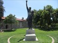 Image for Medal cut from Tommie Smith statue at San Jose State