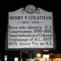 Image for Henry P. Cheatham, Marker G-94