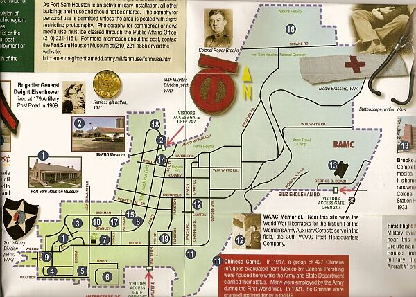 Fort Sam Houston Museum  War And Military Museums On