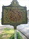 Image for Elizabethtown's First Brick House