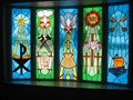 Image for Christian Symbol Window – Pioneer UMC, Rock Valley, IA
