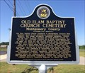 Image for Old Elam Baptist Church Cemetery - Montgomery, AL