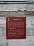 Image for CNHS - Rideau Hall ~ Ottawa, Ontario
