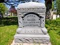 Image for John Baker Headstone - Summerside, PEI