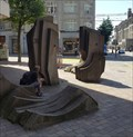 Image for Stone Sculpture at Kantonalbank - St. Gallen, SG, Switzerland