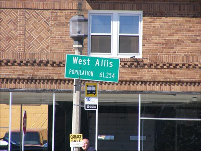 West Allis City Limits |West Allis Sign