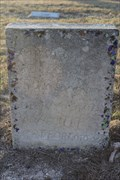 Image for Mrs. R. D. Billingsley -- Copperas Cemetery, Kimble Co. TX
