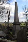 Image for William Wilson Obelisk, St.Wilfid's Churchyard, Calverley, West Yorkshire.
