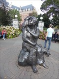 Image for Statue of Artist, Her Dog, and Her Monkey - Victoria, British Columbia, Canada