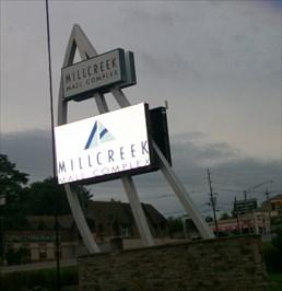 Millcreek Mall Sign