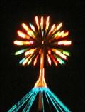 Image for Quayside Fireworks Tree. Napier. New Zealand.