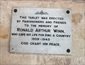 Image for Ronald Arthur Winn - St Botolph and St John The Baptist - Croxton Kerrial, Leicestershire