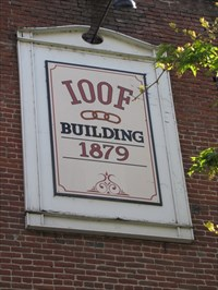 Building Sign, Ashland, OR