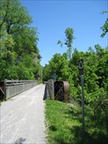 Image for Pony Plate Girder Bridge - Katy Trail over Little Tavern Creek - near Bluffton, MO
