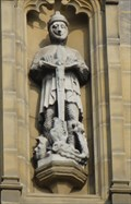 Image for St. George On Tower Of St. Peter's Church – Harrogate, UK
