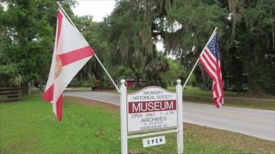 veritas vita visited The Micanopy Historical Society Museum