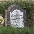 Image for A91 Milestone - Cupar, Fife.