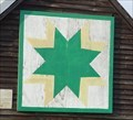 Image for Eight-Point Star Quilt Square- Franklin, GA