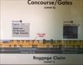 Image for Baggage Claim 8 Map - Arlington, VA