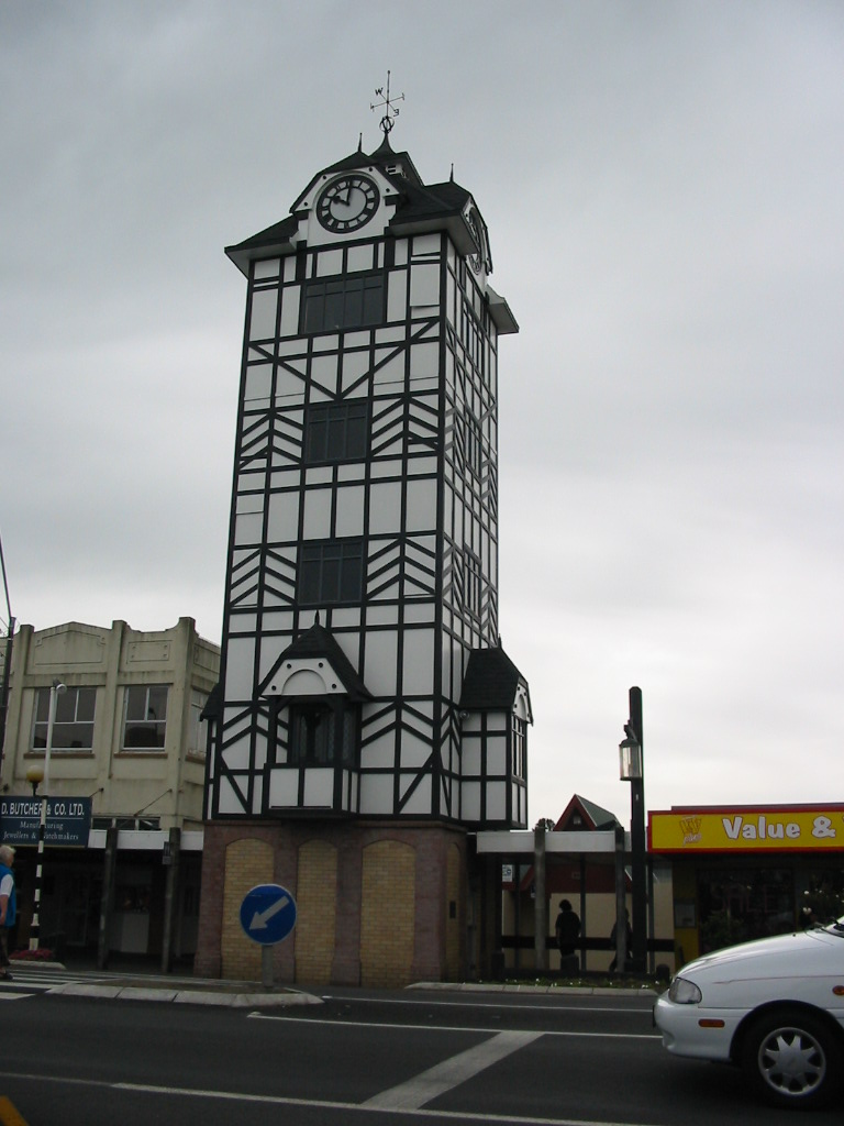 Stratford New Zealand  City new picture : Glockenspiel. Stratford. Taranaki. New Zealand. Image