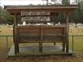 Image for Sardis Cemetery Bench & Shelter - Folkston, GA