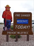 Image for Smokey Bear - USDA Natural Resources Conservation Service Center - Newcastle, WY