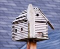 """Image for """"Log Cabin"""" Birdhouse at the Williams Mill"""