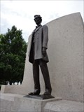 Image for Abraham Lincoln & 3153 Lincoln Asteroid  -  Springfield, IL