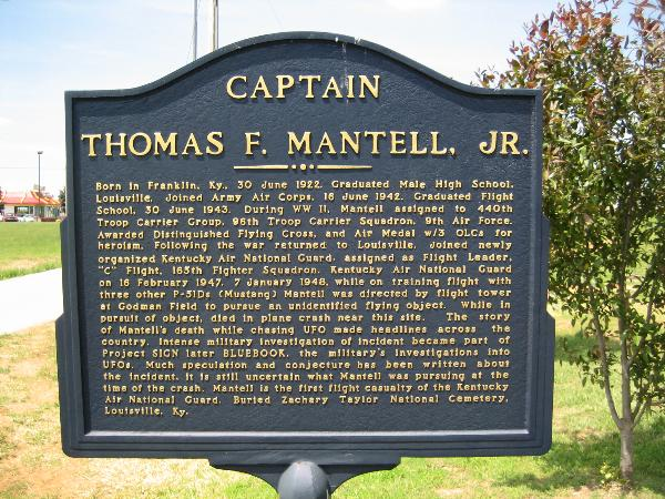 Mantell Historical On Thomas Markers Jr Captain F Kentucky wqZ4F46x