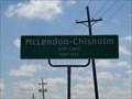 Image for McLendon-Chisholm TX - Population 1373