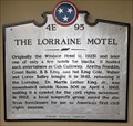Image for The Lorraine Motel - 4E 95 - Memphis, Tennessee, USA.